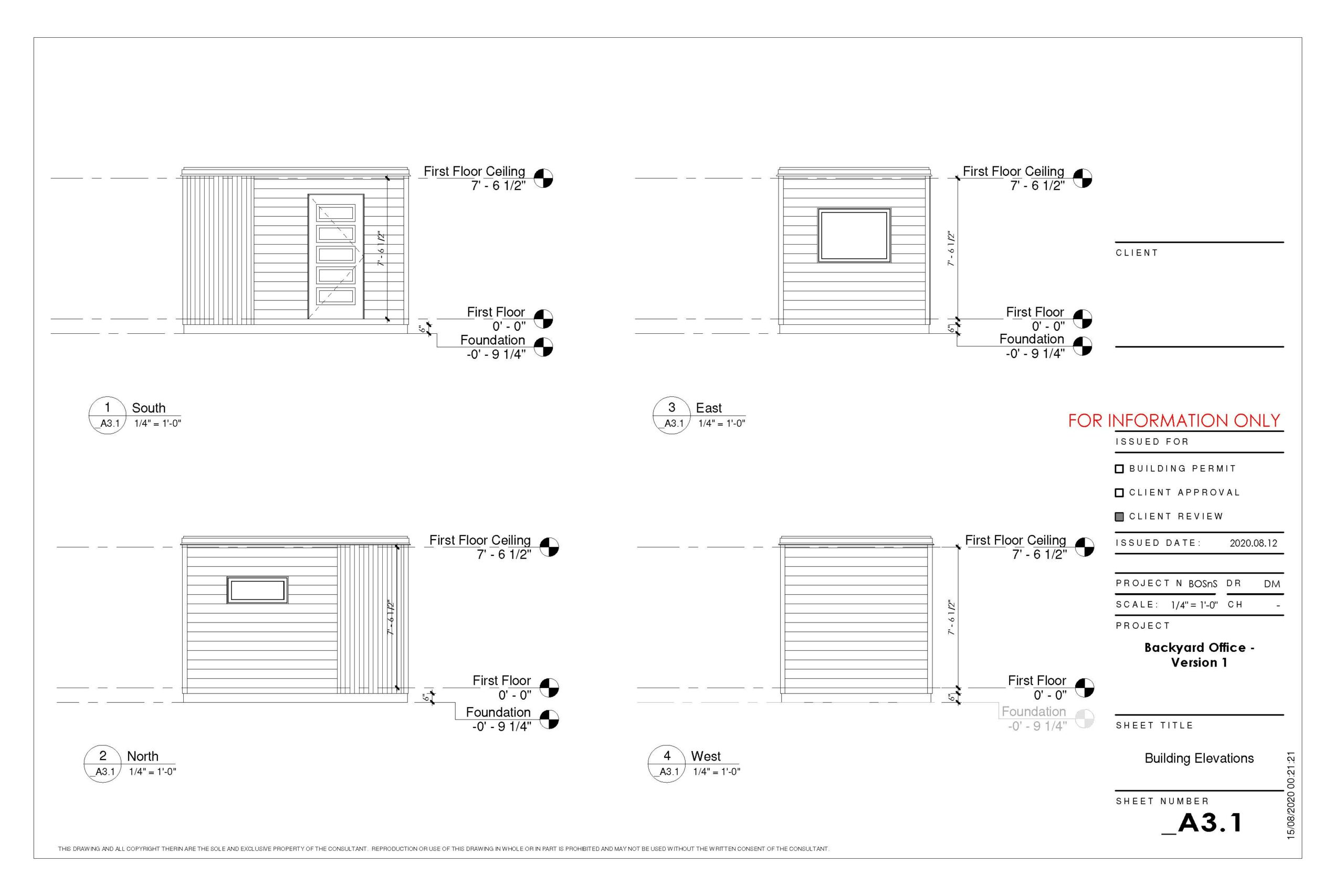 Backyard office 8x12 v1 Page 2 scaled Backyard Offices, Studios and Sheds - Creating new spaces